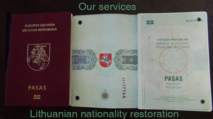 Restoring the Lithuanian nationality